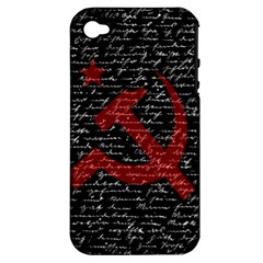 Communism  Apple Iphone 4/4s Hardshell Case (pc+silicone) by Valentinaart