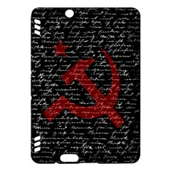 Communism  Kindle Fire Hdx Hardshell Case by Valentinaart