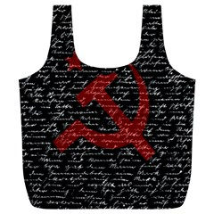 Communism  Full Print Recycle Bags (l)  by Valentinaart
