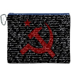 Communism  Canvas Cosmetic Bag (xxxl) by Valentinaart