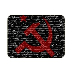Communism  Double Sided Flano Blanket (mini)  by Valentinaart