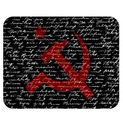 Communism  Double Sided Flano Blanket (medium)  by Valentinaart