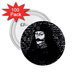 Count Vlad Dracula 2 25  Buttons (100 Pack)  by Valentinaart