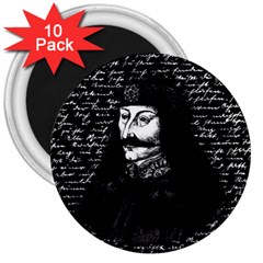Count Vlad Dracula 3  Magnets (10 Pack)  by Valentinaart