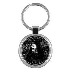 Count Vlad Dracula Key Chains (round)  by Valentinaart