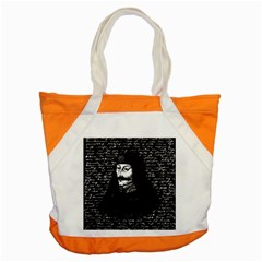 Count Vlad Dracula Accent Tote Bag by Valentinaart