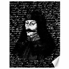 Count Vlad Dracula Canvas 36  X 48   by Valentinaart