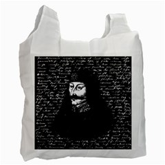 Count Vlad Dracula Recycle Bag (one Side) by Valentinaart