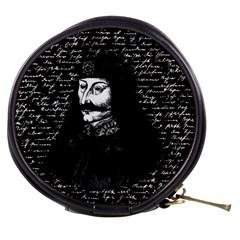 Count Vlad Dracula Mini Makeup Bags by Valentinaart