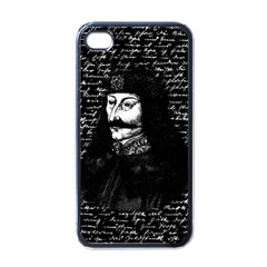 Count Vlad Dracula Apple Iphone 4 Case (black) by Valentinaart
