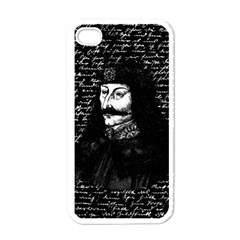 Count Vlad Dracula Apple Iphone 4 Case (white) by Valentinaart