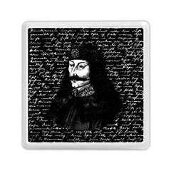 Count Vlad Dracula Memory Card Reader (square)  by Valentinaart