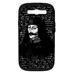 Count Vlad Dracula Samsung Galaxy S Iii Hardshell Case (pc+silicone) by Valentinaart