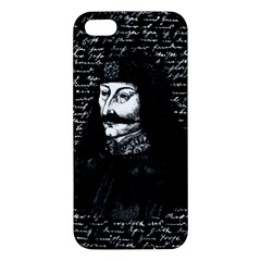 Count Vlad Dracula Apple Iphone 5 Premium Hardshell Case by Valentinaart