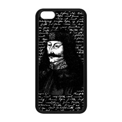 Count Vlad Dracula Apple Iphone 5c Seamless Case (black) by Valentinaart