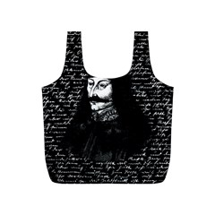 Count Vlad Dracula Full Print Recycle Bags (s)  by Valentinaart