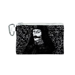 Count Vlad Dracula Canvas Cosmetic Bag (s) by Valentinaart