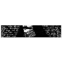 Count Vlad Dracula Flano Scarf (small) by Valentinaart