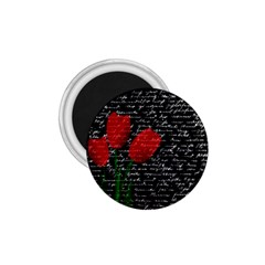 Red Tulips 1 75  Magnets by Valentinaart