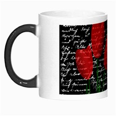Red Tulips Morph Mugs by Valentinaart