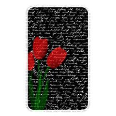 Red Tulips Memory Card Reader by Valentinaart