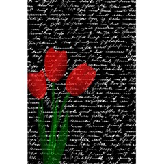 Red Tulips 5 5  X 8 5  Notebooks by Valentinaart