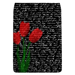 Red Tulips Flap Covers (s)  by Valentinaart