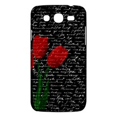 Red Tulips Samsung Galaxy Mega 5 8 I9152 Hardshell Case  by Valentinaart