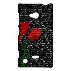 Red Tulips Nokia Lumia 720 by Valentinaart
