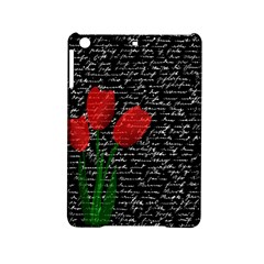 Red Tulips Ipad Mini 2 Hardshell Cases by Valentinaart