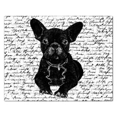 Cute Bulldog Rectangular Jigsaw Puzzl by Valentinaart