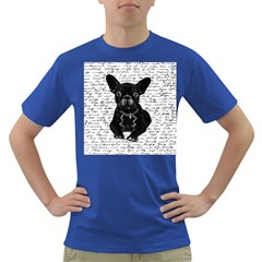 Cute Bulldog Dark T Shirt by Valentinaart
