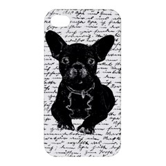Cute Bulldog Apple Iphone 4/4s Hardshell Case by Valentinaart
