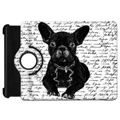 Cute Bulldog Kindle Fire Hd 7  by Valentinaart
