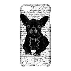 Cute Bulldog Apple Ipod Touch 5 Hardshell Case With Stand by Valentinaart