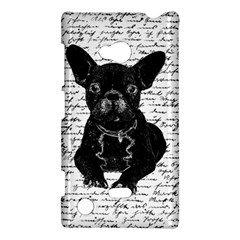 Cute Bulldog Nokia Lumia 720 by Valentinaart