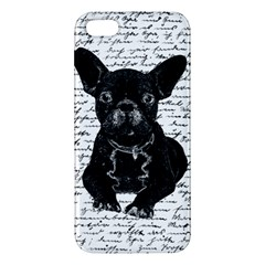 Cute Bulldog Iphone 5s/ Se Premium Hardshell Case by Valentinaart