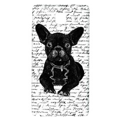 Cute Bulldog Galaxy Note 4 Back Case by Valentinaart