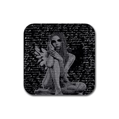 Angel Rubber Coaster (square)  by Valentinaart