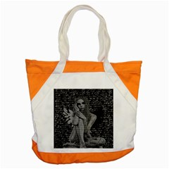 Angel Accent Tote Bag by Valentinaart