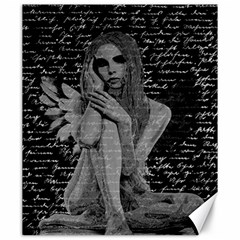 Angel Canvas 20  X 24   by Valentinaart