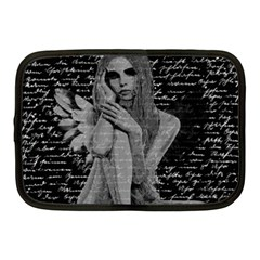 Angel Netbook Case (medium)  by Valentinaart