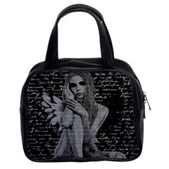 Angel Classic Handbags (2 Sides) by Valentinaart