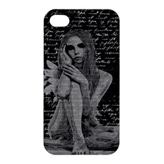 Angel Apple Iphone 4/4s Hardshell Case by Valentinaart