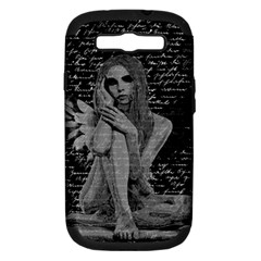 Angel Samsung Galaxy S Iii Hardshell Case (pc+silicone) by Valentinaart
