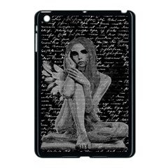 Angel Apple Ipad Mini Case (black) by Valentinaart