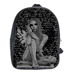 Angel School Bags (xl)  by Valentinaart