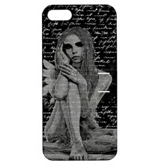 Angel Apple Iphone 5 Hardshell Case With Stand by Valentinaart