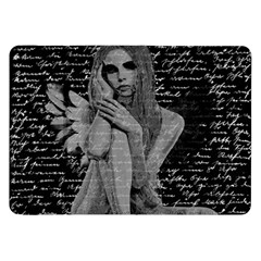 Angel Samsung Galaxy Tab 8 9  P7300 Flip Case by Valentinaart