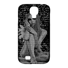 Angel Samsung Galaxy S4 Classic Hardshell Case (pc+silicone) by Valentinaart